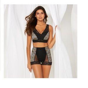 72d4707dd9 Rhonda Shear Intimates   Sleepwear - 3-Pack Rhonda Shear Lace Overlay Bra  NEW